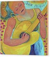 Dreaming Of San Miguel Wood Print