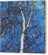 Dreaming Of Spring Wood Print