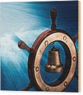 Dreaming Of The High Seas 1 Wood Print