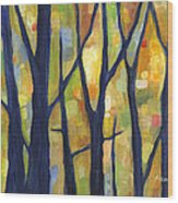 Dreaming Trees 2 Wood Print