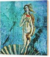 Dreams Of Venus Wood Print