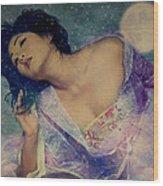 Dreams Of Yang Guifei Wood Print