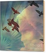 Of Lucid Dreams / Dreamscape 6 Wood Print