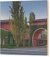 Dreamworks Studio Burbank Glendale Ca Panorama  Wood Print