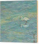 Dreamy Bird Wood Print