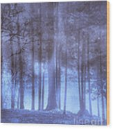 Dreamy Forest Wood Print