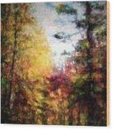Dreamy Nature Walk Wood Print
