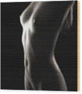 Dreamy Nude 3 Wood Print