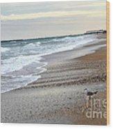 Dreamy Ocean Beach North Carolina Coastal Beach  Wood Print