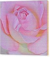 Dreamy Pink Wood Print