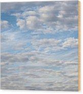 Dreamy Sky Wood Print