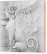 Dreamy Sphinx Wood Print