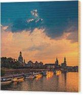 Dresden 02 Wood Print