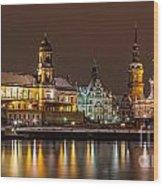 Dresden The Capital Of Saxony I Wood Print
