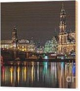 Dresden The Capital Of Saxony II Wood Print