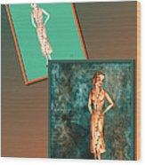 Dress Design 18 Wood Print