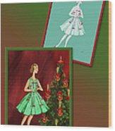 Dress Design 47 Wood Print