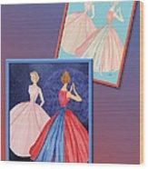 Dress Design 52 Wood Print
