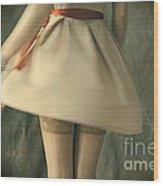 Dress Twirl Wood Print by Craig B