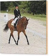 Dressage Test Wood Print