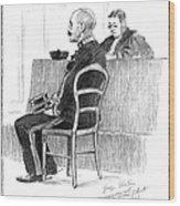 Dreyfus Affair 1899 Wood Print