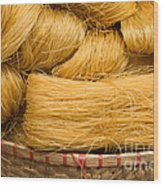 Dried Rice Noodles 04 Wood Print