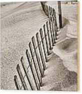 Drift Iv Wood Print