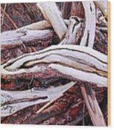 Driftwood Wood Print