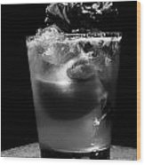 Drink After Dark Wood Print