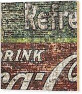 Drink Coca-cola 1 Wood Print
