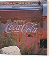 Drink Coca Cola Wood Print