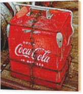 Drink Coke In Bottles Wood Print