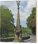 Drinking Fountain - Bakewell Wood Print