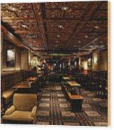 Driskill Hotel Upper Lobby Wood Print