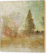 Home Skyline Wood Print
