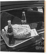 Drive-in Coke And Burgers Wood Print