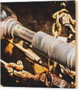 Drive Shaft - 1 Wood Print