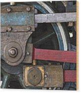 Drivin' Wheel Wood Print
