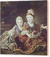 Drouais, Fran�ois Hubert 1727-1775. The Wood Print