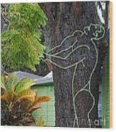 Druid Wood Print by Robert Buck