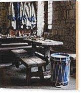 Drum Corps 2 Wood Print