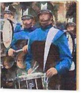 Drummers Wood Print