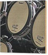 Drums Wood Print