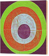 Drunk Circles Seven Wood Print