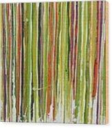 D.s. Color Band Skinny Wood Print
