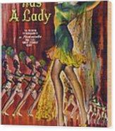 Du Barry Was A Lady, Us Poster, 1943 Wood Print