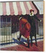 Du Bois Shops, 1922 Wood Print
