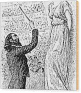 Du Maurier: Trilby, 1894 Wood Print