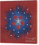 Dual Citizenship 2 Wood Print by First Star Art