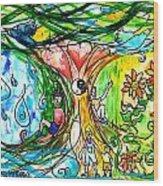 Dual Nature Wood Print